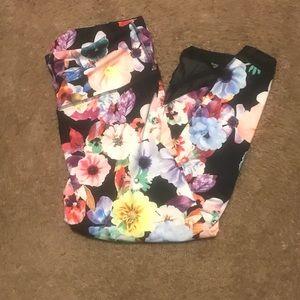 Old Navy Floral Print Pants